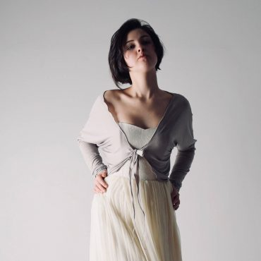 Long sleeve wedding shrug - Larimeloom Handmade Clothing
