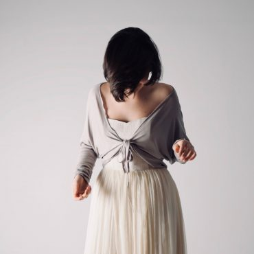 Long sleeve wedding shrug - Larimeloom Handmade Clothing