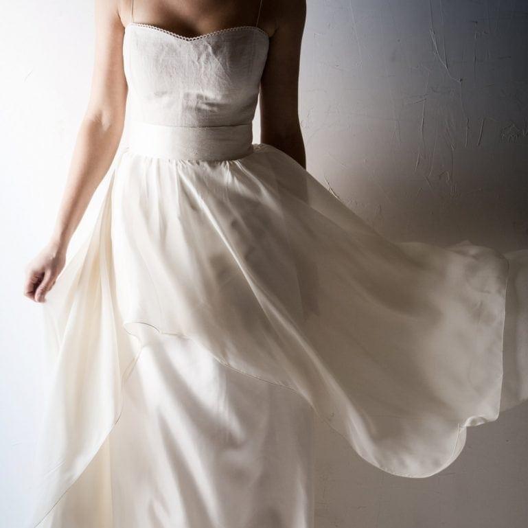 Silk Bridal sash