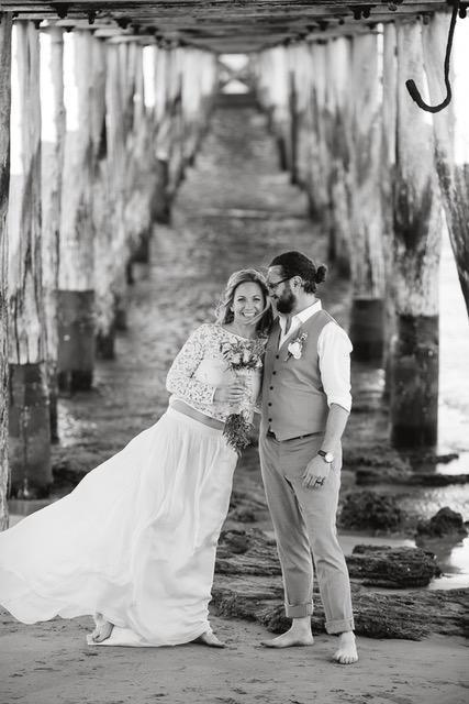 Sarah's Australian beach wedding