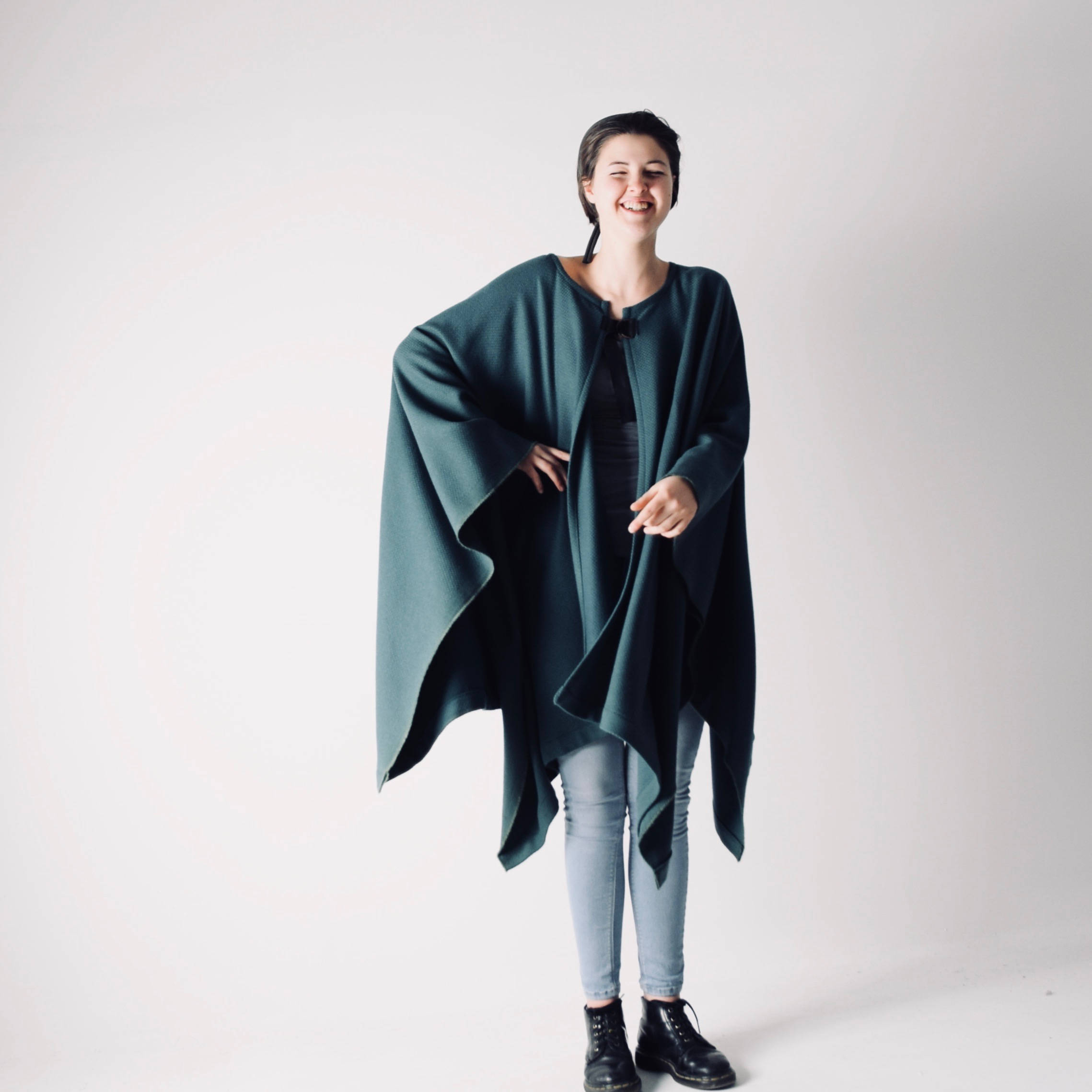 how to make a wool blanket cloak