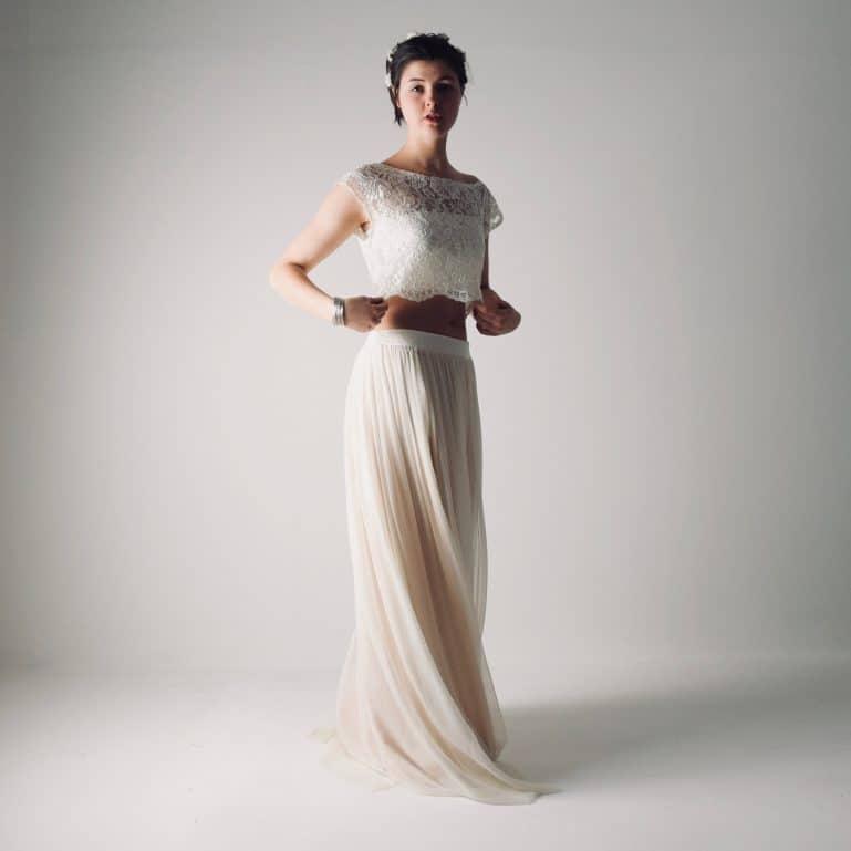 Fennel ~ Boho wedding dress separates