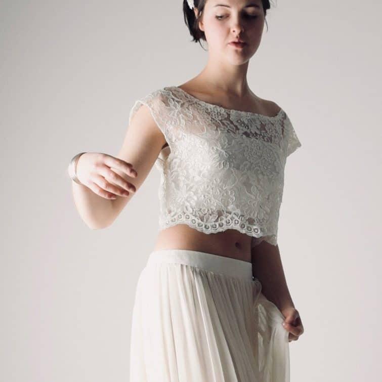 Fennel Boho Wedding Dress Separates
