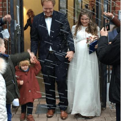 Larimeloom testimonial real bride