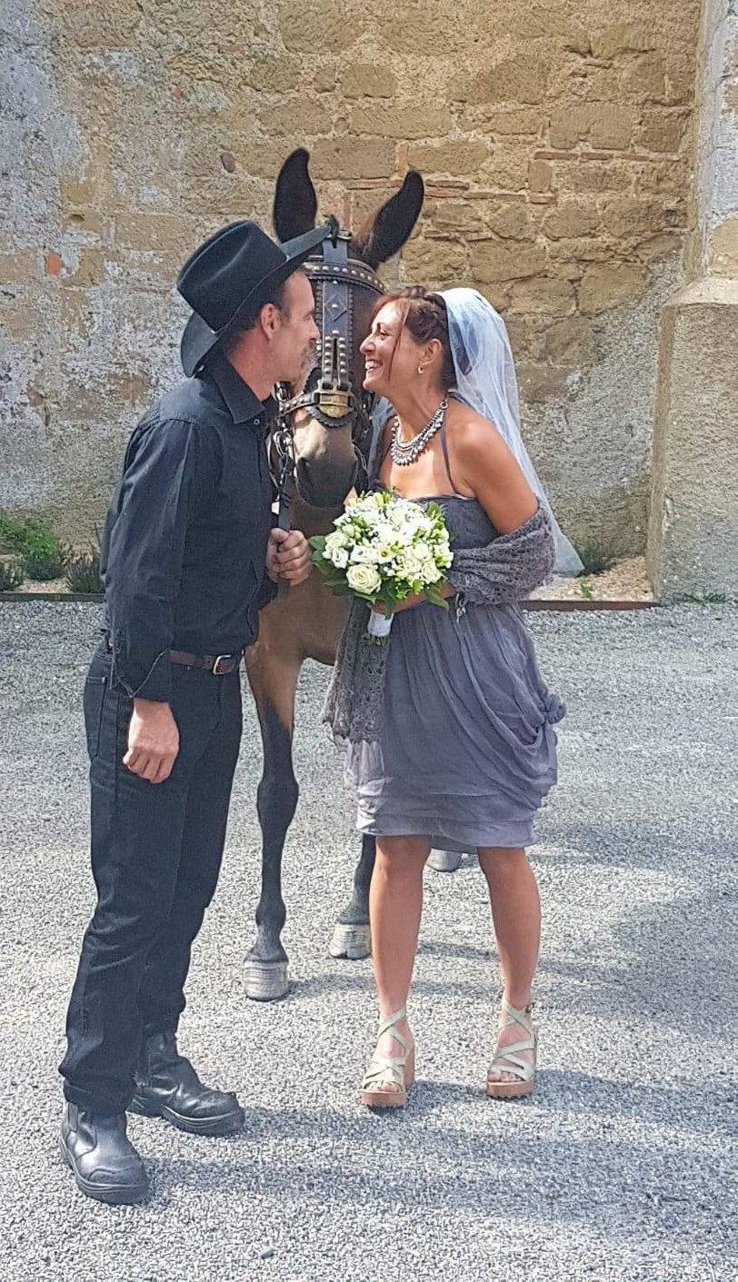 Hand dyed grey short boho wedding dress