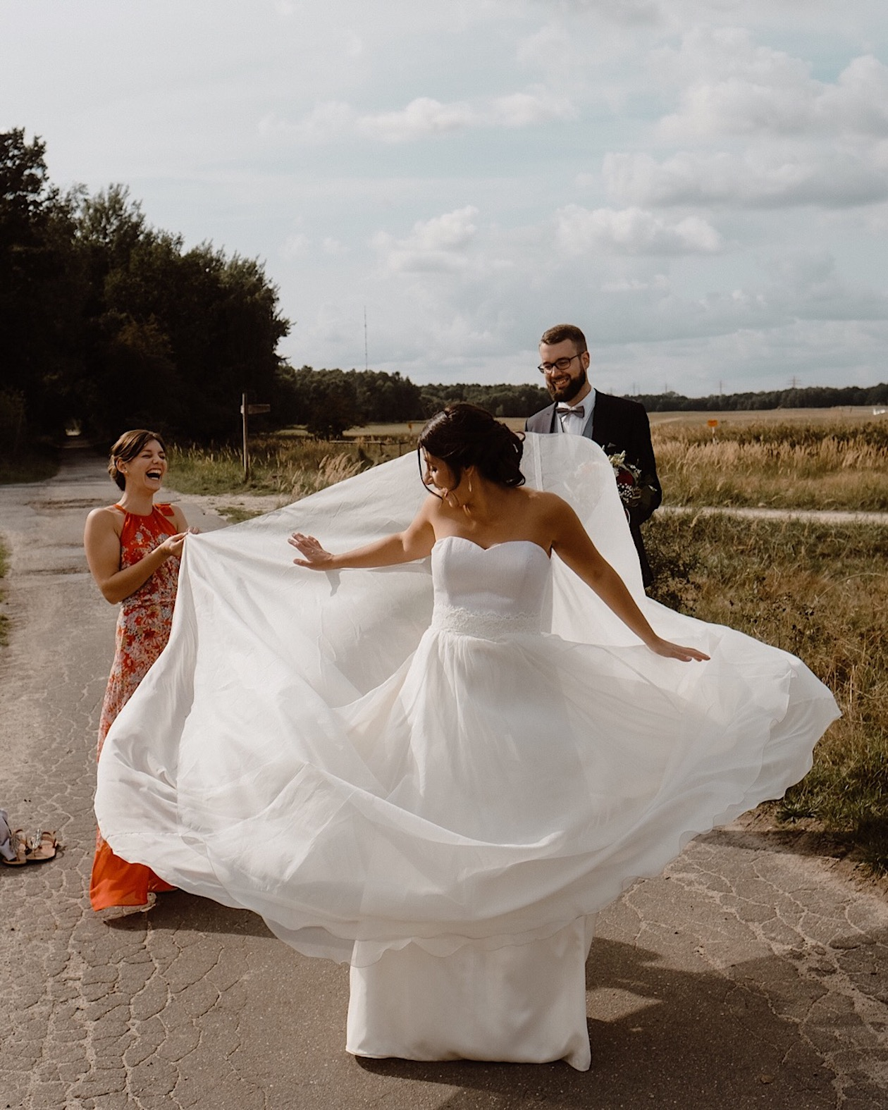 romantic princess wedding in germany