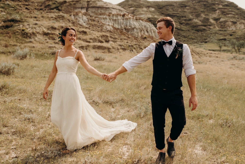 Sylvie's Outdoors wedding in Canada