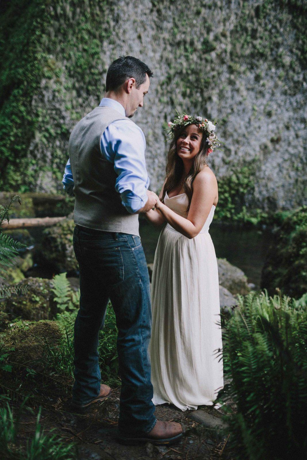amber&andrew, wedding waterfall, wedding locations, dream wedding, dream dress, handmade wedding dress, custom silk wedding dress