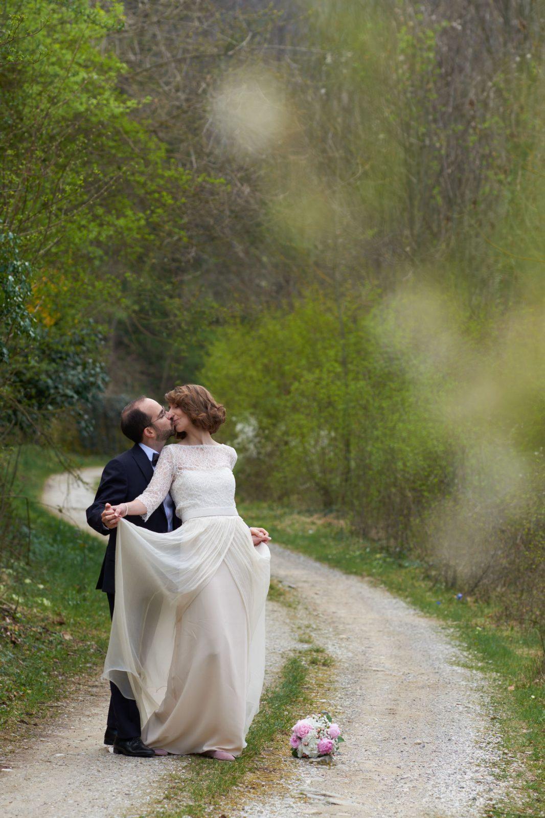 traditional wedding dress, classic wedding, lace wedding separates, italian vintage wedding
