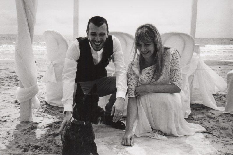 wedding on the beach in Italy, bridal separates, vintage wedding reception
