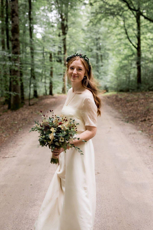 country wedding, outdoor wedding, bride and groom love, simple romantic ceremony