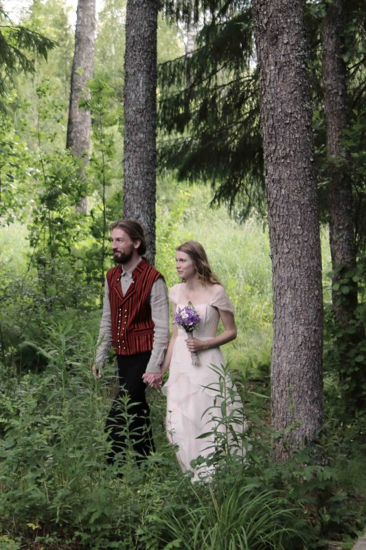 woodland wedding, inspiration wedding pictures, bride and groom, nature wedding, alternative wedding ideas, custom wedding dress, handmade silk wedding gown, larimeloom bride, natural fairy wedding bride