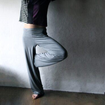 Pantaloni Ampi in Cotone
